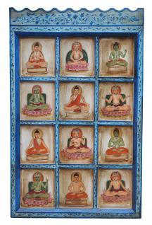 Indien wunderschönes klassisches Wandbild traditionelle Motive - Vorschau