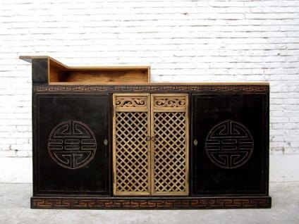 Wunderschöner Barschrank aus Massivholz vielseitige Innenausstattung