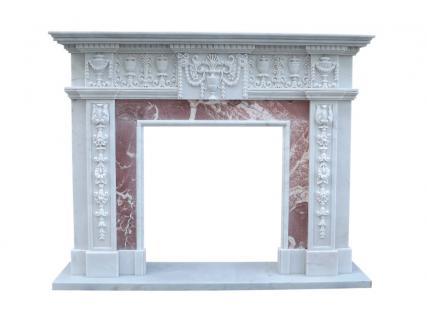 Klassizismus Empire Kaminfassade Marmor Kamin Shop Kaminverkleidung Kamine Stilkamine - Vorschau