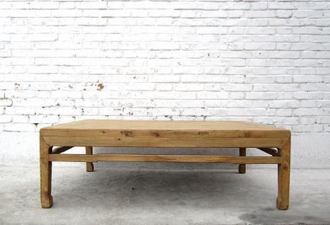 CHINA Shanxi 1860 antique table natural pine wood CINA tavolo basso I D SD.D.38 - Vorschau