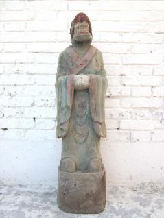 Tierkreis Skulptur Drache Horoskopfigur China Buddhismus Pappel 100 Jahre alt von Luxury Park