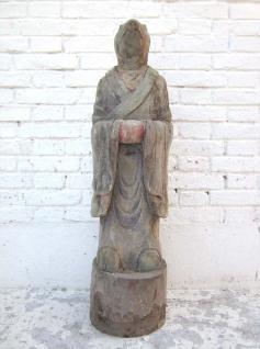 Skulptur Ratte China astrologische Figur Statue buddhistisch Pappel 80 Jahre alt von Luxury Park - Vorschau