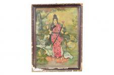 Bild Gemälde aus Indien - unbedingt ansehen.