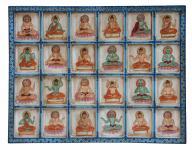 Indien feines Wandbild Querformat mit traditionellen religiösen Motiven