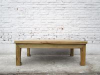 CHINA medium sized low table console natural pine wood tavolino I D SD.D.51