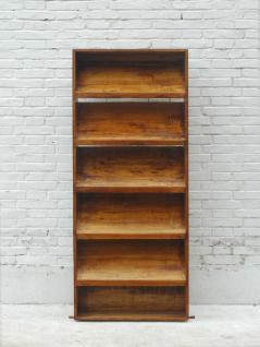 Bücherbord Regal Schrank Pappel 6 Einlegeböden - Vorschau