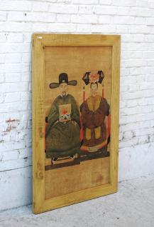 China großes Wandbild Porträt Brautpaar Pinie - Vorschau