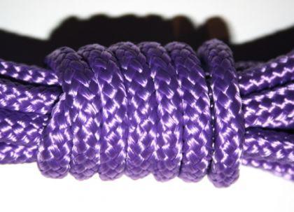 Bondageseil Polypropylenseil violett