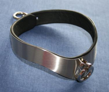 Premium Halsband, Maßanfertigung, Edelstahl - Vorschau 2