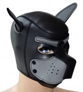 Hundemaske Kopfmaske Neopren Puppy Dog Play