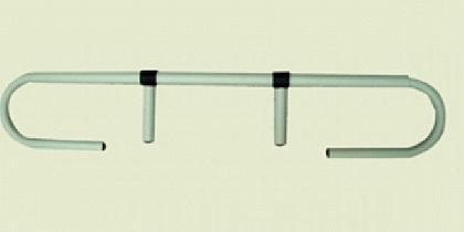 Papierrollenhalter zum Einstecken am Kopfende