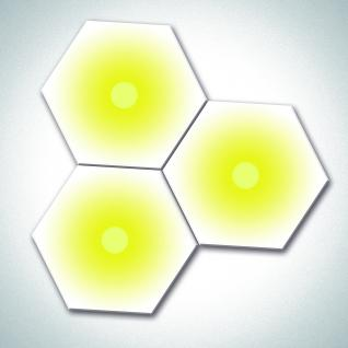 PowerSun Hexagon mit Licht - Infrarotheizung 500 Watt