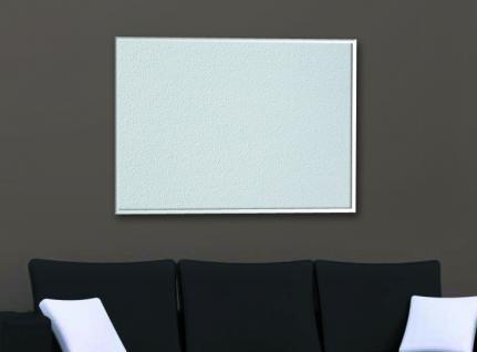 Infrarotheizung PowerSun Reflex, 600 Watt, Alurahmen - 60x90cm, Oberfläche weiß
