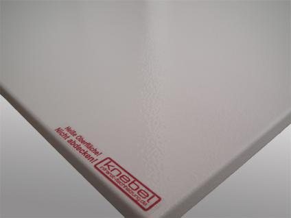 Infrarotheizung PowerSun Reflex - 700 Watt, 60x120cm, Oberfläche weiß, glatt