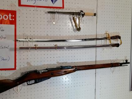 1 Paar Wandhalter Kurzwaffen Langwaffen - Vorschau 2