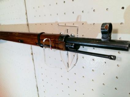 1 Paar Wandhalter Kurzwaffen Langwaffen - Vorschau 4