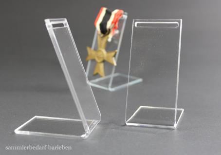 5 kleine Ständer für Orden an Band ohne Nadel