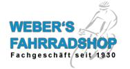 Logo von Webers Fahrradshop