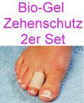 Bio-Gel Zehenschutz - 2er Set - bei Verletzungen, Hühneraugen etc.