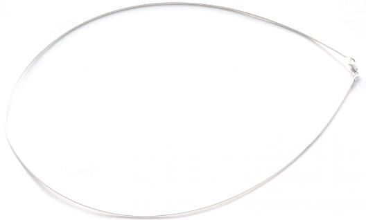 Glatter Omegareif Halbflexibler Silberreif - Vorschau 2