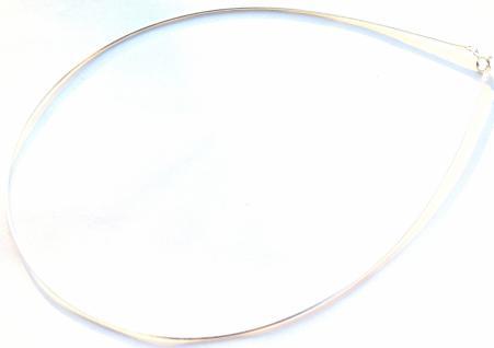 Glatter Omegareif Halbflexibler Silberreif - Vorschau 1