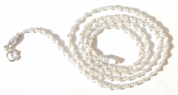 SPIRALFLACHKETTE Silberkette