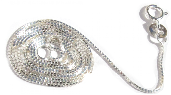 VENEZIANERKETTE 925 Silber 46 cm 1 mm hochflexibel stabil
