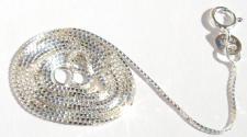 VENEZIANERKETTE - 925 Silber 1 mm Kette 46 cm hochflexibel & sta