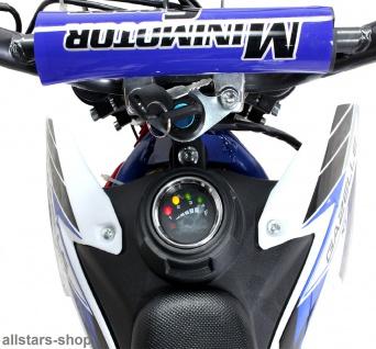 Actionbikes Kindermotorrad Kinder-Crossbike Poketbike Gazelle E-Motorrad blau - Vorschau 4