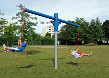 Hally-Gally Spogg Dreh-Wipp-mich-Karussell Schaukel Spielplatz Kreiselkarussell