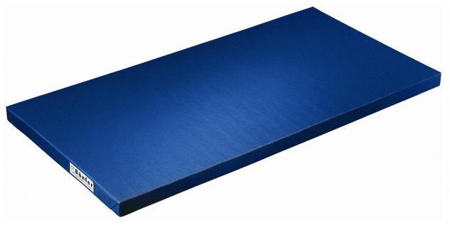 Bänfer Schulturnmatte VB 100 blau 2000 x 1000 x 80 mm Turnmatte Sportmatte