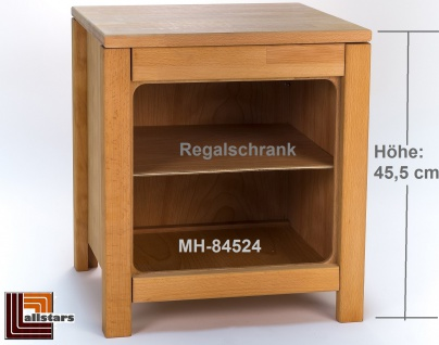 Allstars Kinderspielküche Küchenregal Regal Regalschrank H = 45, 5 cm aus Buchenholz