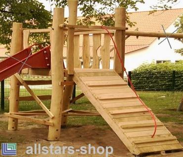 Spielhaus aus Kletteranlage Spielkombination Friedelsheim ohne Rutsche und Schaukelgestell