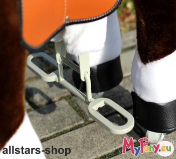 """Actionbikes Ponycycle """"Mister Ed"""" Pony Mini Schaukelpferd auf Rollen Dreirad - Vorschau 4"""