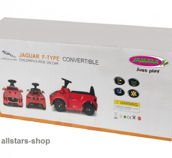 Jamara Kinder-Auto Ride On Car Kiddy Jaguar Kleinkind-Auto mit E-Motor rot - Vorschau 2