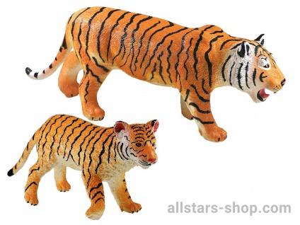 Allstars Spielfiguren 2 Tiger Zootiere