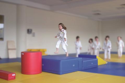 Turnen BUDO Mini-Weichboden 40 mm Kampfsport Judo Breitensport Sport Bänfer Trainingsmodul