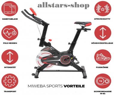Actionbikes Ergometer Cycling MS100 Sports Fitnessbike Fitnesstainer Hometrainer Miweba