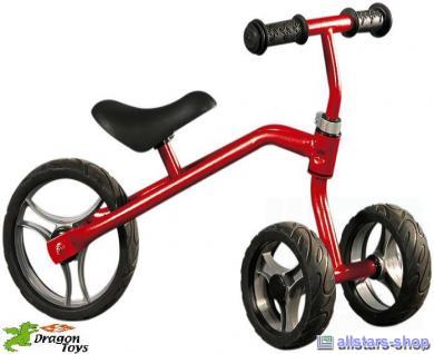 Dragon Toys Mini Shaker Scooter Rutscher Ride on Dreirad rot Laufrad für Kindergarten