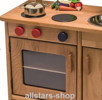 Allstars Spielküche Kinderküche Pantryküche aus Massivholz mit Spülbecken und Mikrowelle - Vorschau 3