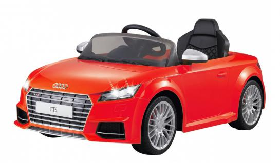 Jamara Kinderauto Elektroauto Elektro Ride on Car Audi TTS Roadstar Auto rot
