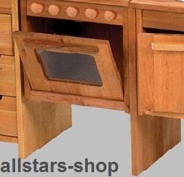 Schöllner Ofen Backofen für Kinderküche Spielküche Star Maxi aus Holz mit Herdplatten für Kindergarten - Vorschau 2