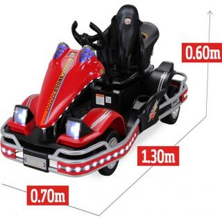Actionbikes Elektro-Kinderauto Renn-Auto GoKart Go Kart E-Auto Miweba
