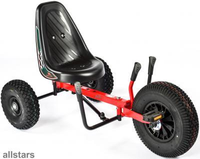 DinoCars Twister Kids Kinderfahrzeug GoCart Sitzverstellung Hinterradlenkung