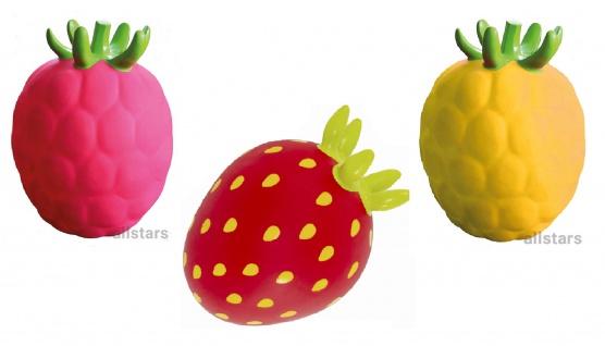 """Hüpfball Set """"Zitrone""""+""""Erdbeere""""+""""Himbeere"""" Hopser Hüpffrucht allstars"""