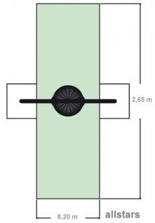 Huck Bogenschaukel mit Vogelnest 120 zum Einbetonieren - Vorschau 3