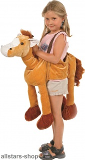 Allstars Kinder-Kostüm Tierkostüm Pferd Faschingskostüm Schlupfkostüm Karneval