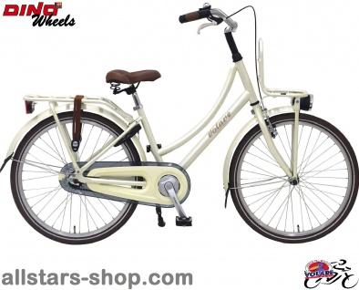 Allstars Dino Bikes Wheels Kinderfahrrad Mädchenfahrrad 24 Zoll, Excellent, perlweiß