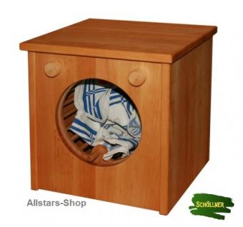 Schöllner Kinderküche Spielküche Star Maxi aus Holz mit Herdplatten Waschmaschine Backofen Schrank + Spüle für Kindergarten - Vorschau 4
