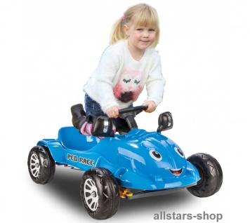 Jamara Kinder-Pedalauto Tretauto Rutscher Pedal Car Gokart - Vorschau 3
